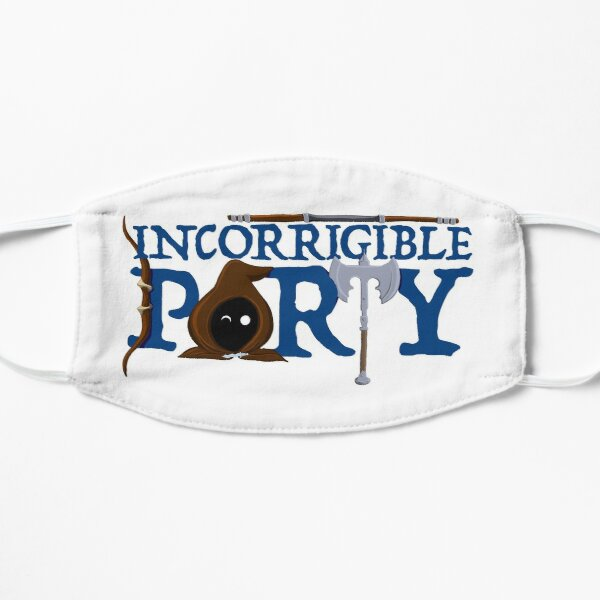 The Incorrigible Party logo Small Mask