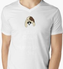Puppyshipping Mens V-Neck T-Shirt