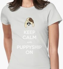 Puppyshipping Womens Fitted T-Shirt