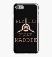 Code Name Verity -- Fly the Plane Maddie iPhone Case/Skin