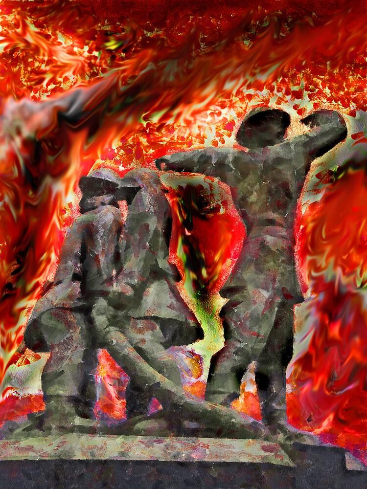 London's World War 2 Firemen by PictureNZ