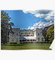 The Marble House, Newport Rhode Island Poster