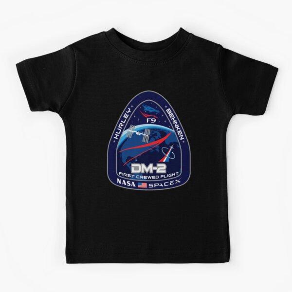 NASA SPACEX First Crewed Flight Kids T-Shirt