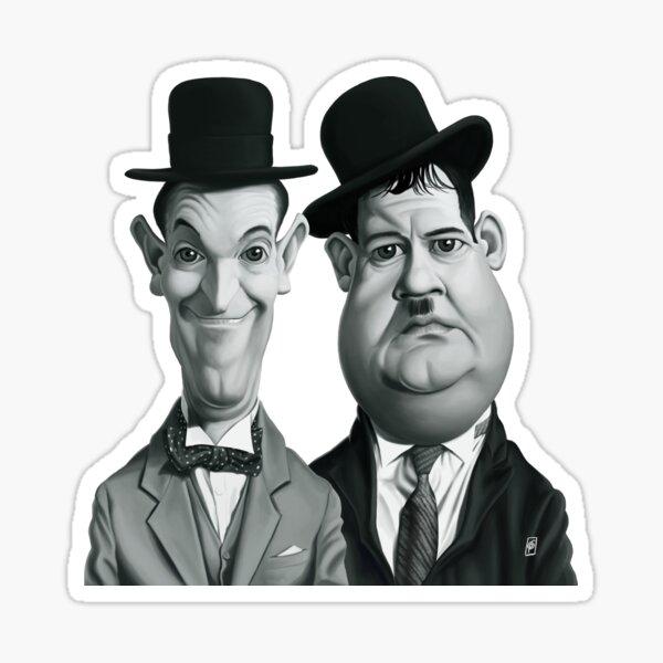 Celebrity Sunday - Laurel and Hardy Sticker