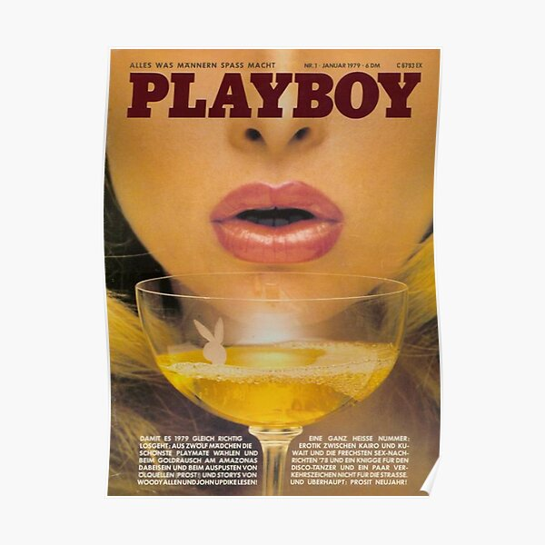 Playboy Vintage Cover January 1979 Poster