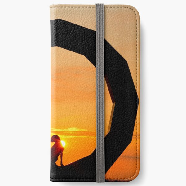 German Wirehaired Pointer in Heavens Gate, Longleat, Wiltshire iPhone Wallet
