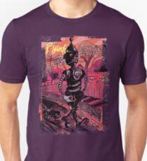 P-Yeah Robot Cat Walker  T-Shirt