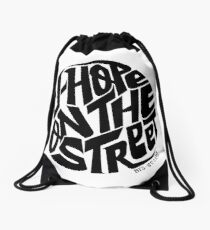 J-Hope - BTS Member Logo Series (Black) Drawstring Bag