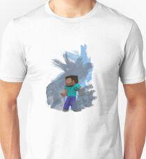 Minecraft Steve- Watercolor Unisex T-Shirt