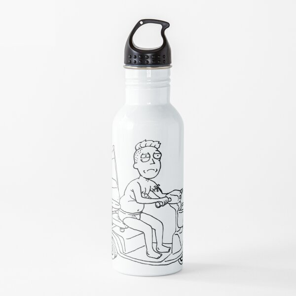 Jerry Smith the actor (C-500A) - Rick and morty fan art Water Bottle