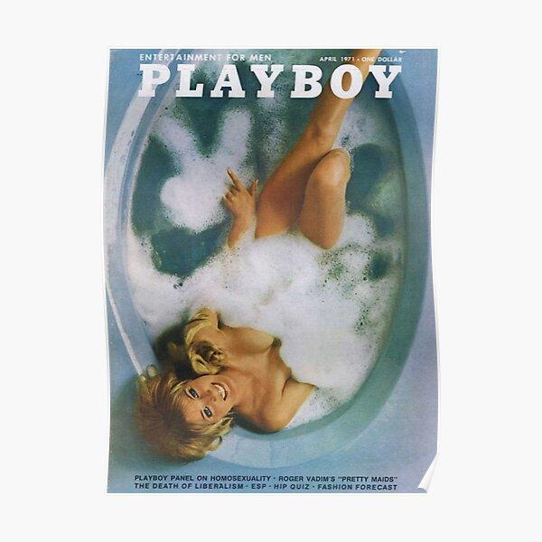 Playboy Vintage Cover April 1971 Poster