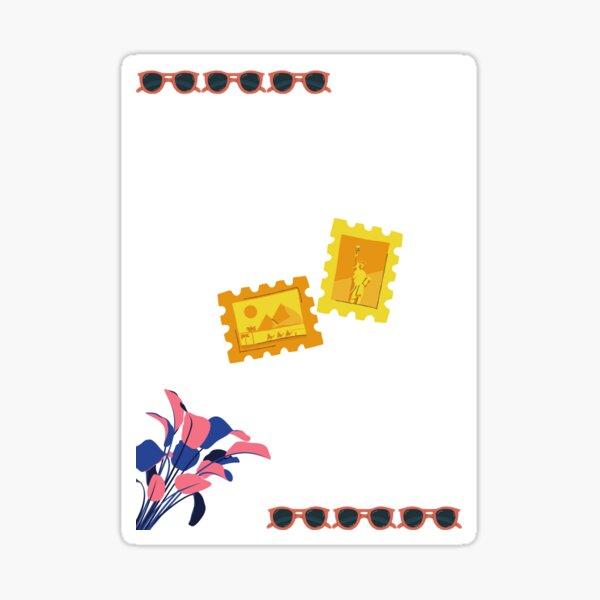 in summer Sticker