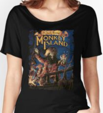 Monkey Island 2 Women's Relaxed Fit T-Shirt