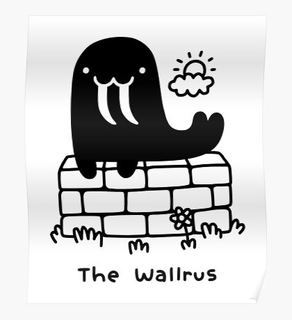 The Wallrus Poster