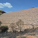 Argyle Dam Wall, Ord River, Western Australia by Margaret  Hyde