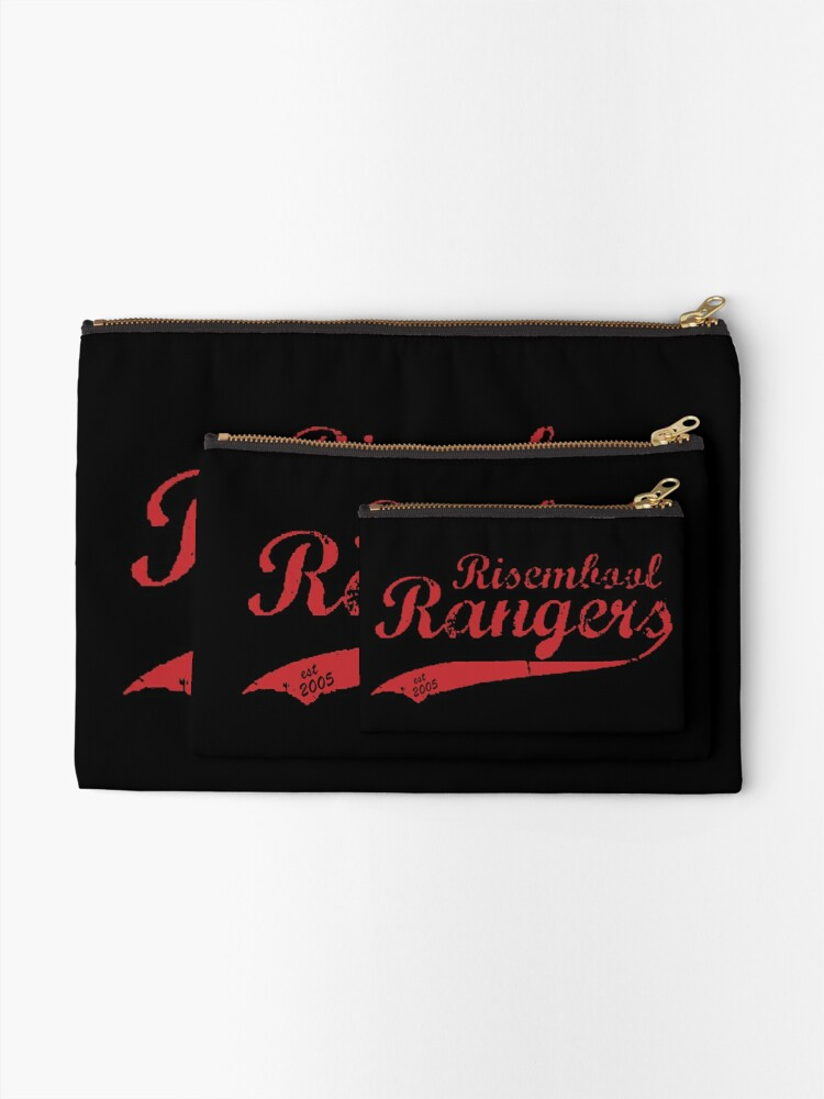 Alternate view of Risembool Ranger Softball Design Zipper Pouch