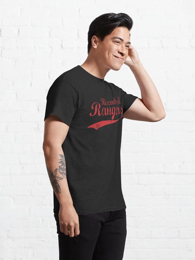Alternate view of Risembool Ranger Softball Design Classic T-Shirt