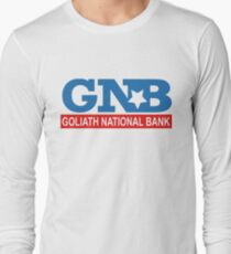 Goliath National Bank Long Sleeve T-Shirt