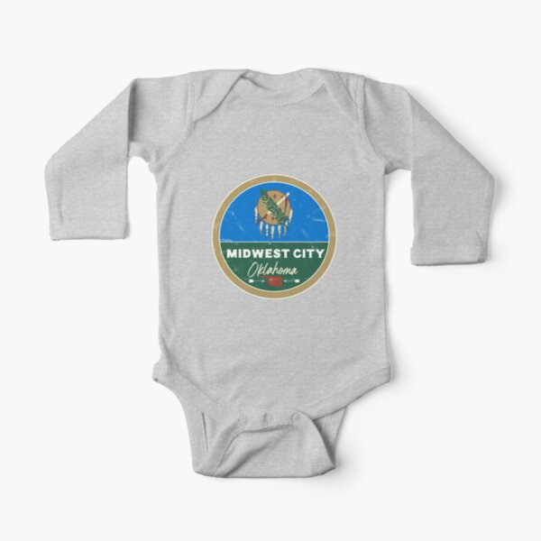 Indiana Hoosier State USA Flag Midwest Vacation Souvenir Infant Baby Romper