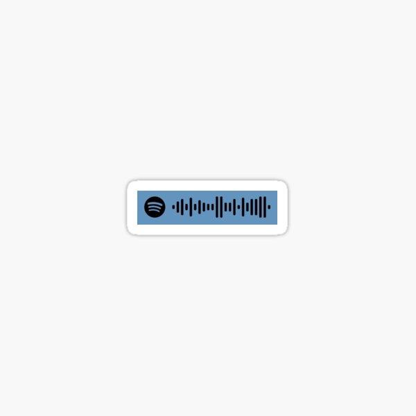 """Sicko Mode"" - Travis Scott Spotify Code Sticker"