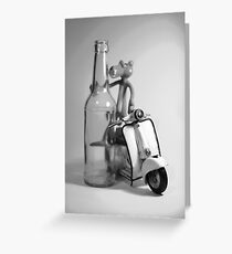 Don't Drink And Drive. Greeting Card