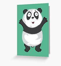 Panda Hug Greeting Card
