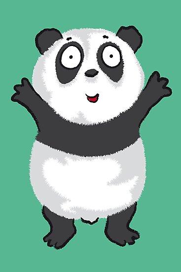 Panda Hug by JBDesigns