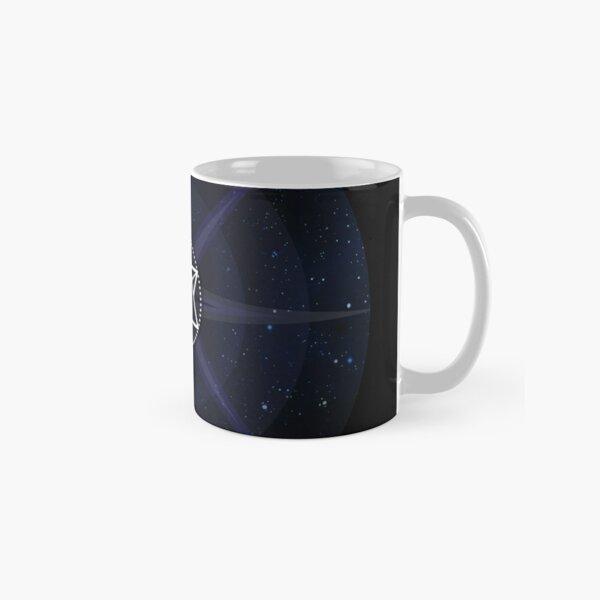 Stars with White Startetrahedron / Merkaba Symbol Classic Mug