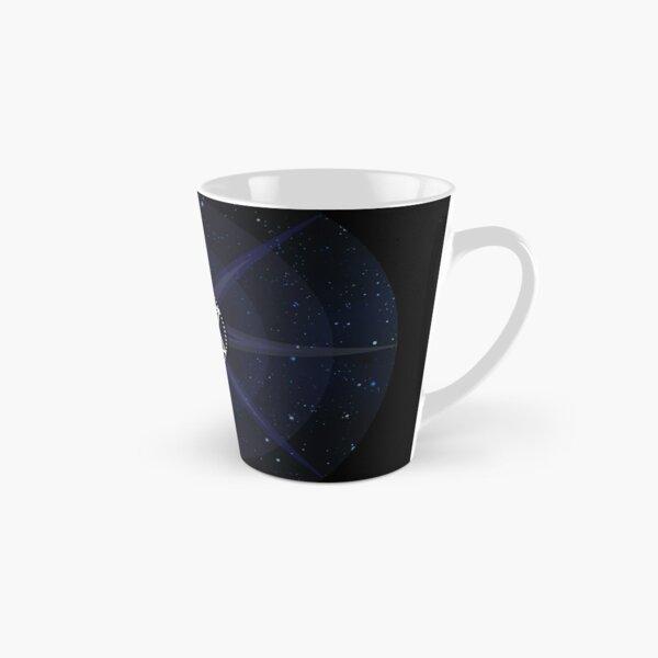 Stars with White Startetrahedron / Merkaba Symbol Tall Mug
