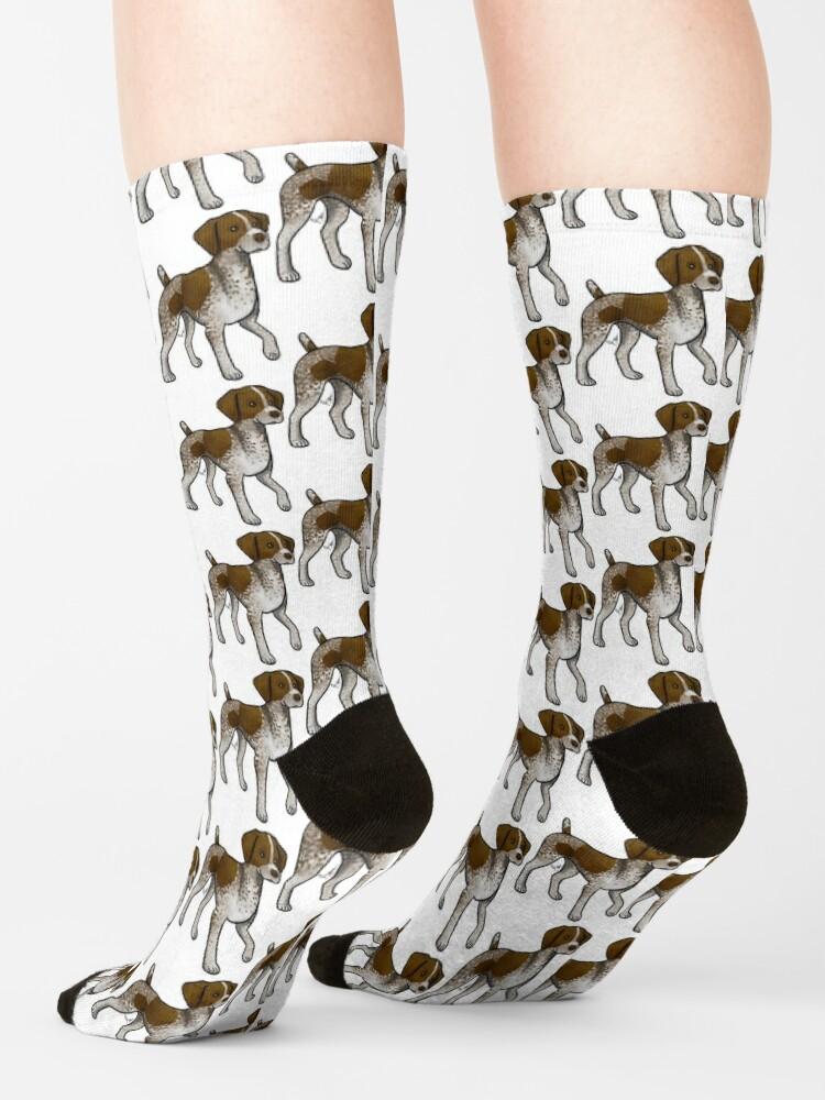 Alternate view of German Shorthaired Pointer Socks