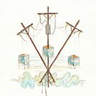 Telephone Lines - internet networking cell phone by Jaime Hernandez