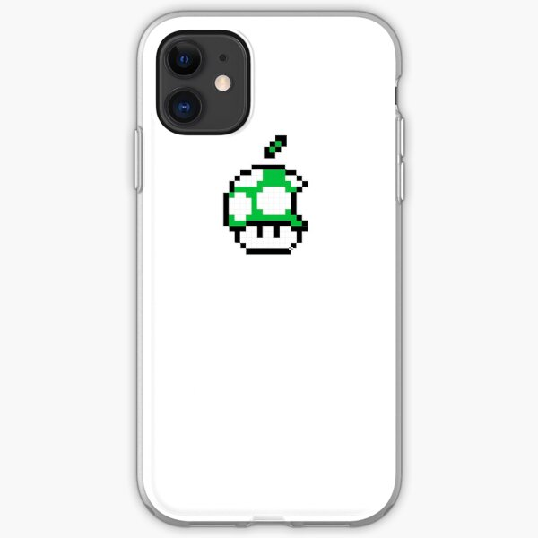 1up Apple Logo iPhone Soft Case