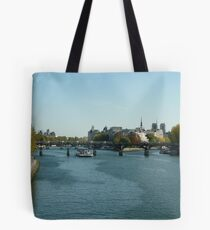 A Trip on the Seine Tote Bag