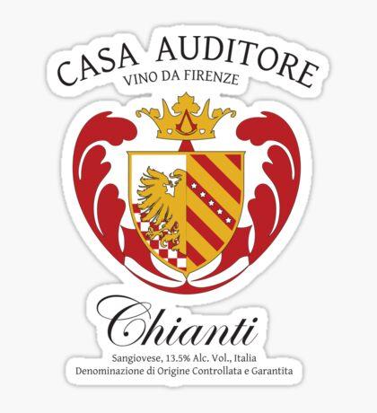 Vino Auditore  Sticker