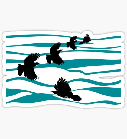 Tuis and the Blue Ocean Sticker