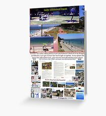 Lady Robinsons Beach - what a pleasant location to relax.  Greeting Card