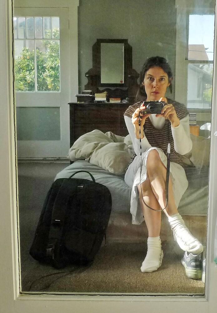 Self Portrait with Camera by Tara Holland