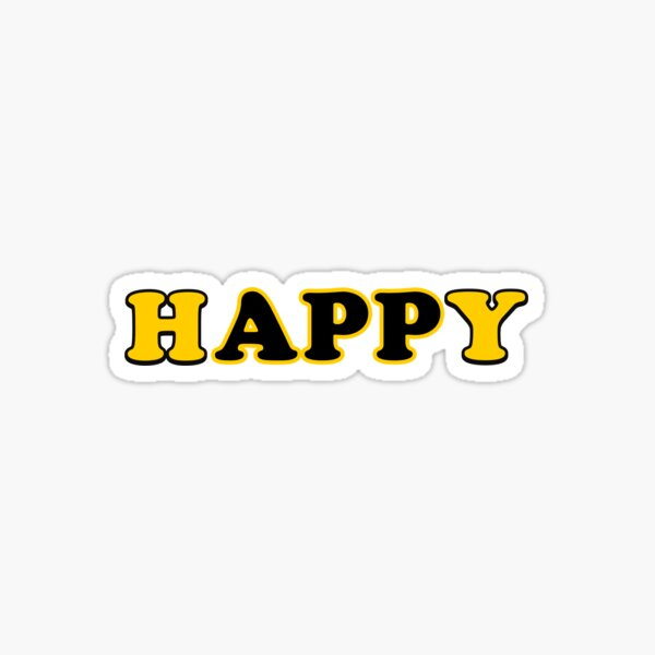 hAPPy Sticker