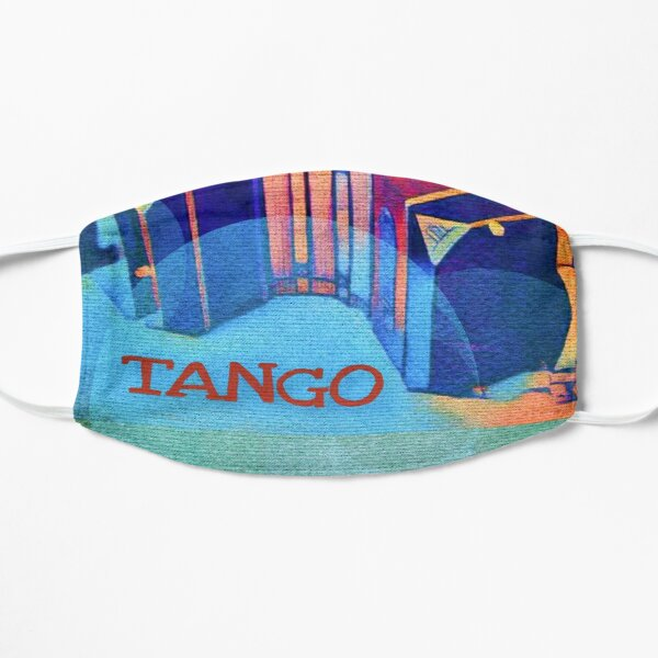 Tango Bandoneon Digital Art Small Mask