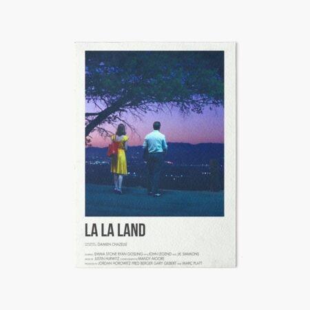 la la land poster  Art Board Print