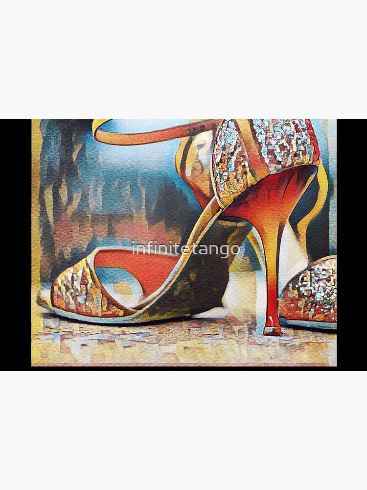 NeoTango Tango Shoes Pop Art by infinitetango