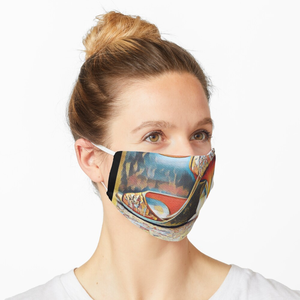 NeoTango Tango Shoes Pop Art Mask