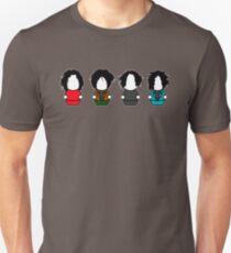 Many Shades of White - No Logo T-Shirt
