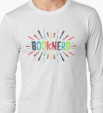 A SPLASH OF BOOKNERD (COLORED) Long Sleeve T-Shirt