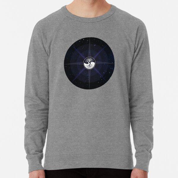 Stars with White Tree of Life Symbol Lightweight Sweatshirt