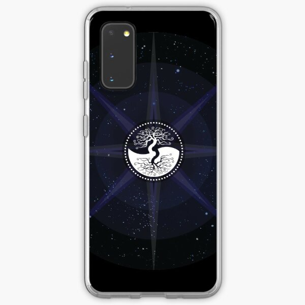Stars with White Tree of Life Symbol Samsung Galaxy Soft Case