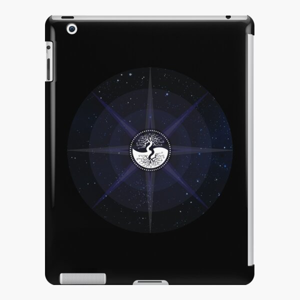 Stars with White Tree of Life Symbol iPad Snap Case