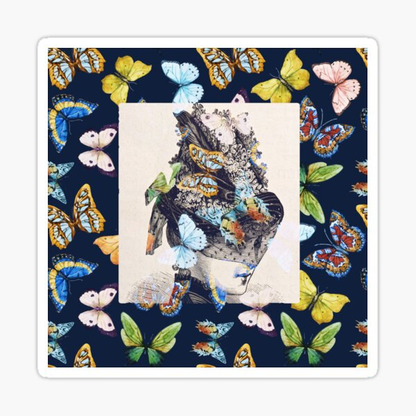 The Butterfly Collector Sticker