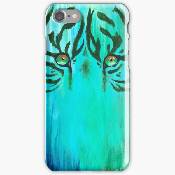 Acrylic Painting of Tiger Eyes iPhone Snap Case