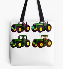 4 tractor fun Tote Bag